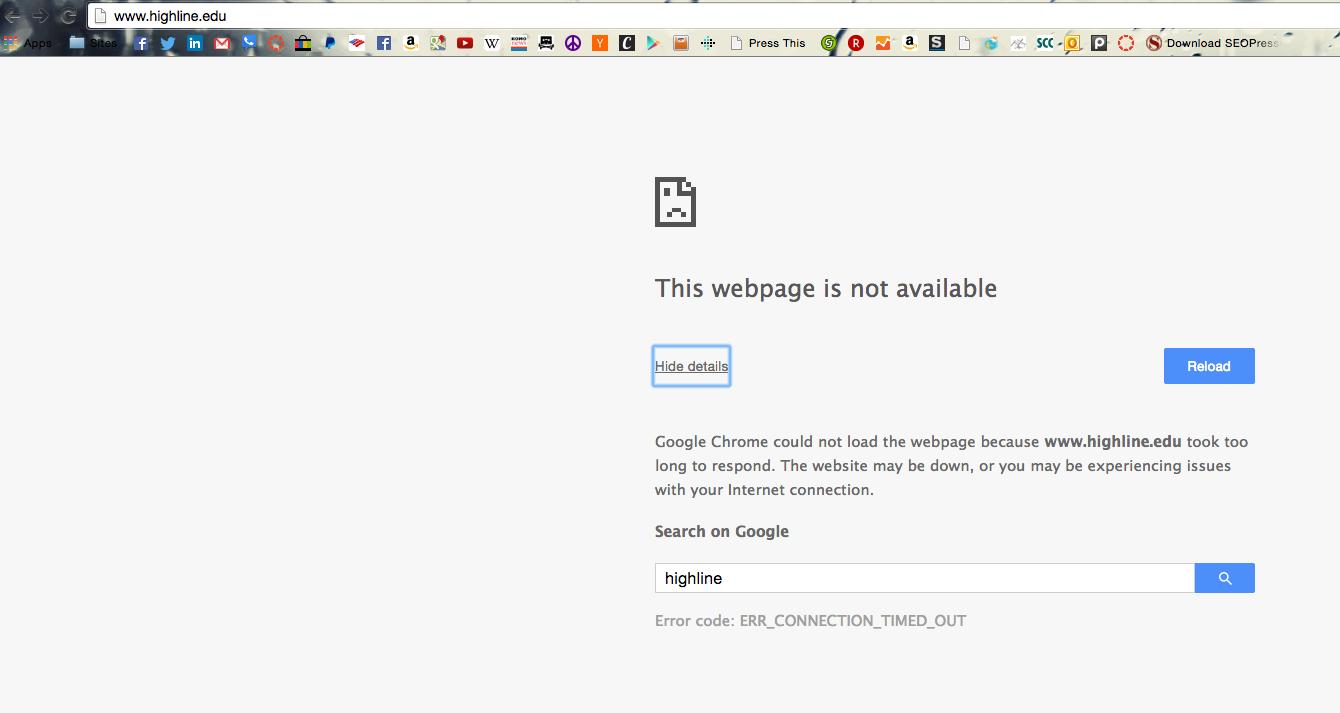 Highline Community College Website JAN 22., 2014