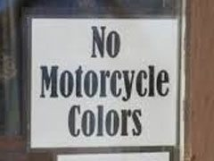 "No ""COLORS"" Allowed"